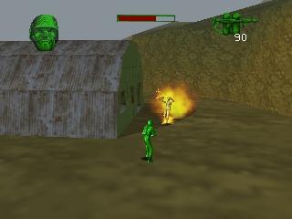 Army Men - Sarge's Heroes (Europe) (En,Fr,De) In game screenshot