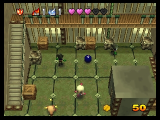 Baku Bomberman 2 (Japan) In game screenshot