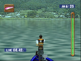 Bass Rush - ECOGEAR PowerWorm Championship (Japan) In game screenshot