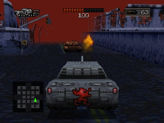 BattleTanx (USA) In game screenshot