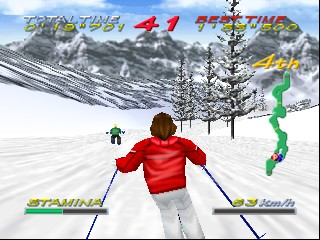 Big Mountain 2000 (USA) In game screenshot