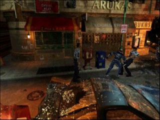 Biohazard 2 (Japan) In game screenshot