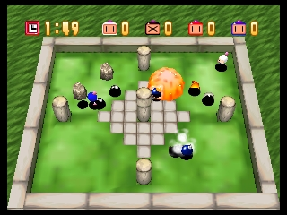 Bomberman 64 (Europe) In game screenshot