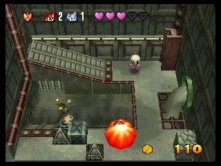Bomberman 64 - The Second Attack! (USA) In game screenshot