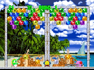 Bust-A-Move 2 - Arcade Edition (Europe) In game screenshot