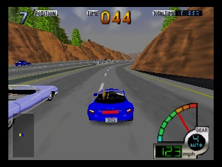 California Speed (USA) In game screenshot