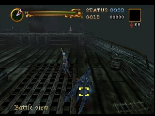 Castlevania - Legacy of Darkness (Europe) (En,Fr,De) In game screenshot