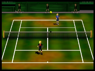 Centre Court Tennis (Europe) In game screenshot