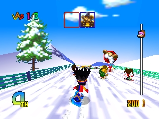 Chou Snobo Kids (Japan) In game screenshot