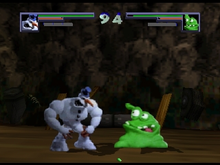 Clay Fighter 63 1-3 (Europe) In game screenshot