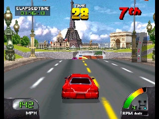 Cruis'n World (Europe) In game screenshot