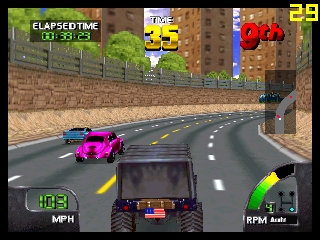 Cruis'n World (USA) In game screenshot