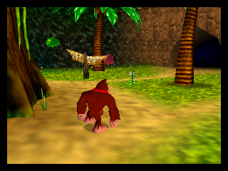 Donkey Kong 64 (Japan) In game screenshot