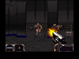 Duke Nukem 64 (France) In game screenshot