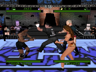 ECW Hardcore Revolution (USA) In game screenshot