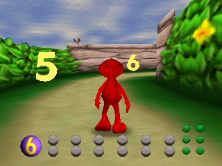 Elmo's Number Journey (USA) In game screenshot