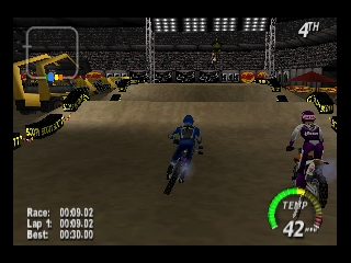 Excitebike 64 (Europe) In game screenshot
