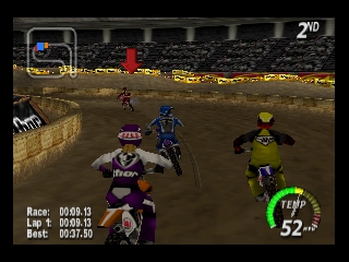 Excitebike 64 (USA) In game screenshot