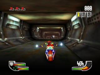 Extreme-G (Japan) In game screenshot