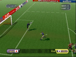 FIFA - Road to World Cup 98 - World Cup heno Michi (Japan) In game screenshot