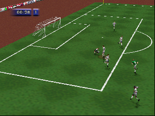FIFA Soccer 64 (Europe) (En,Fr,De) In game screenshot
