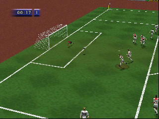 FIFA Soccer 64 (USA) (En,Fr,De) In game screenshot