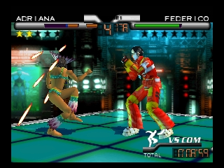 Fighter Destiny 2 (USA) In game screenshot
