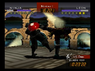 Fighters Destiny (France) In game screenshot