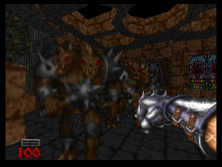 Hexen (Europe) In game screenshot