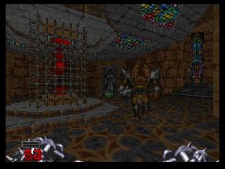 Hexen (France) In game screenshot