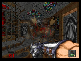 Hexen (Germany) In game screenshot