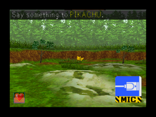 Hey You, Pikachu! (USA) In game screenshot