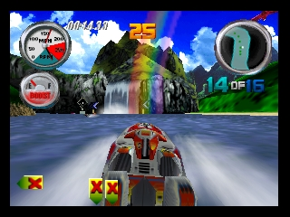 Hydro Thunder (Europe) In game screenshot