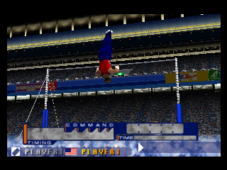 International Track & Field 2000 (USA) In game screenshot