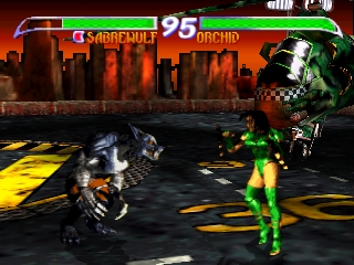 Killer Instinct Gold (Europe) In game screenshot