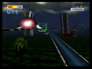 Lylat Wars (Europe) (En,Fr,De) In game screenshot