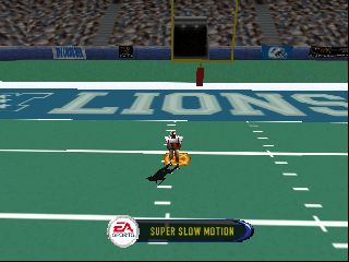 Madden NFL 2001 (USA) In game screenshot