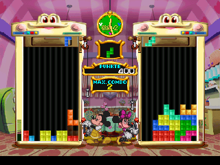 Magical Tetris Challenge (Germany) In game screenshot