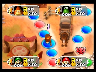 Mario Party 2 (Europe) (En,Fr,De,Es,It) In game screenshot