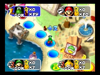 Mario Party 2 (USA) In game screenshot