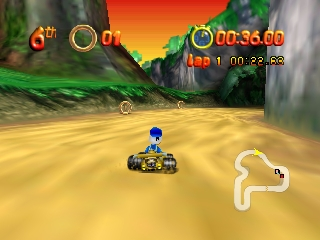Mickey's Speedway USA (USA) In game screenshot