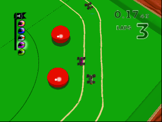 Micro Machines 64 Turbo (Europe) (En,Fr,De,Es,It) In game screenshot
