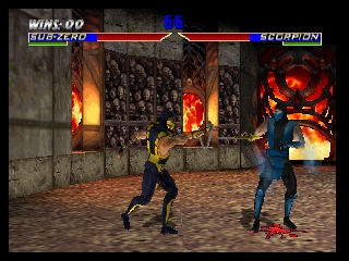 Mortal Kombat 4 (USA) In game screenshot