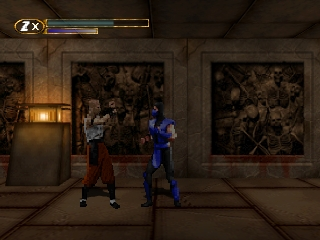 Mortal Kombat Mythologies - Sub-Zero (Europe) In game screenshot