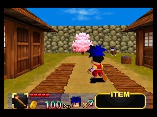Mystical Ninja Starring Goemon (Europe) In game screenshot