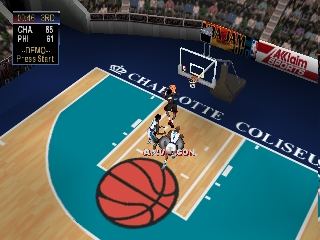NBA Jam 2000 (USA) In game screenshot