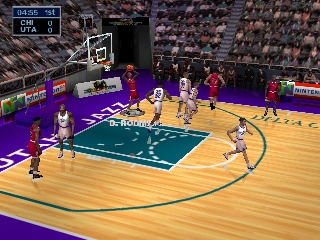 NBA Jam 99 (Europe) In game screenshot