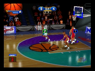 NBA Showtime - NBA on NBC (USA) In game screenshot