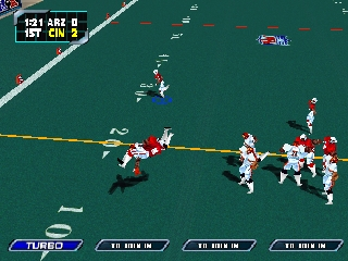 NFL Blitz 2000 (USA) In game screenshot