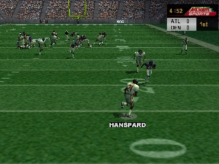 NFL Quarterback Club 2000 (Europe) In game screenshot